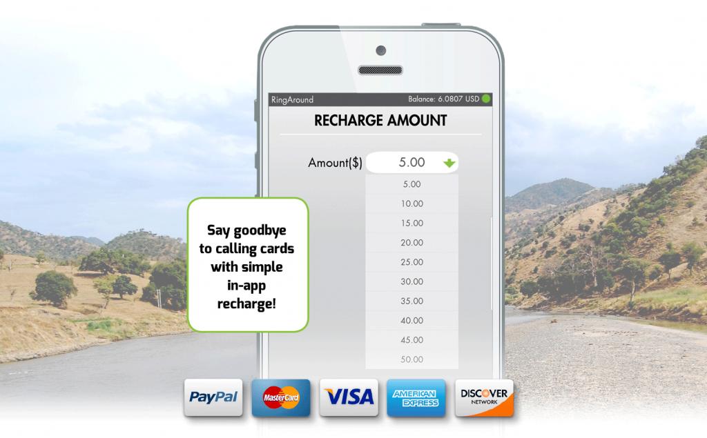 RingAround App: A Premium Quality International Phone